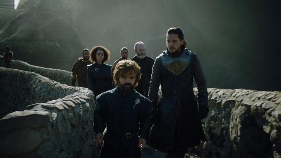 Jon Snow Tyrion Lannister Rocadragón